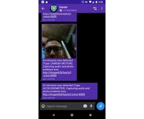 Haven app Snowden