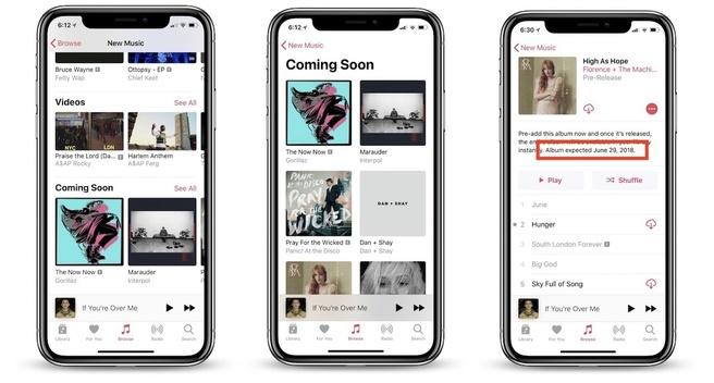 Apple Music Coming Soon