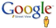 Google Streetview logo groter