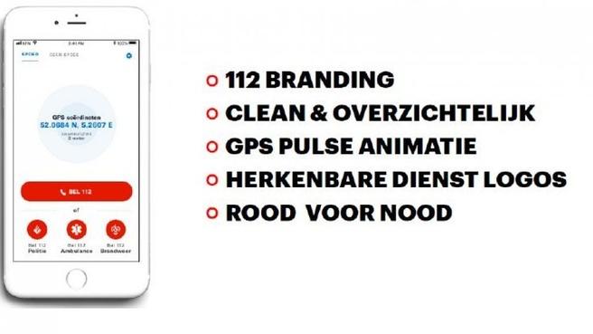 112 app concept Politie RTL Nieuws