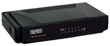 Sweex SW005 5 Port Switch 10/100