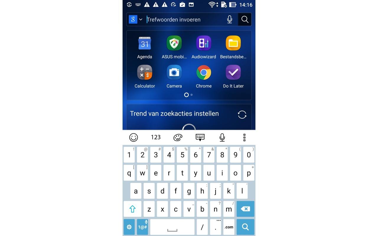 Interface en bloatware Asus Zenfone 3