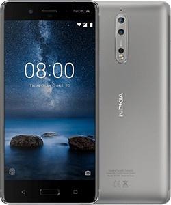 Nokia 8 Grijs