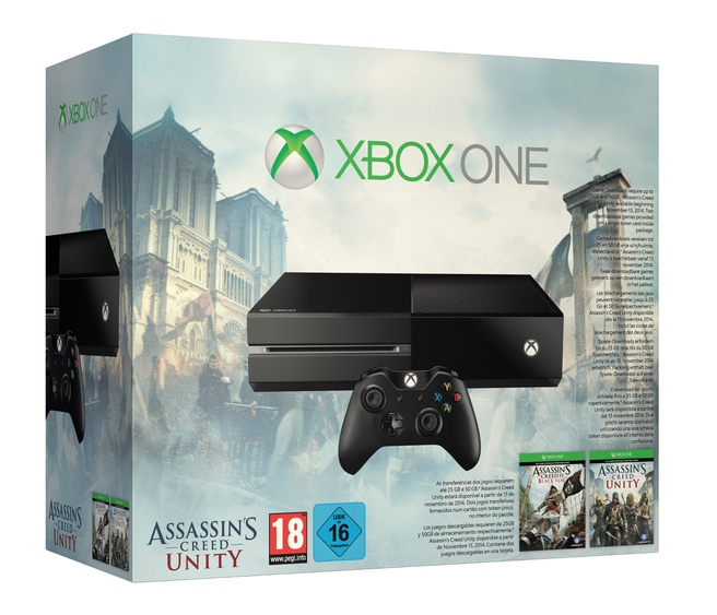 Xbox One-bundel met Assassin's Creed-games