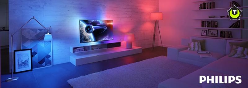 win philips hue lampen voor je ambilight tv televisies beamers