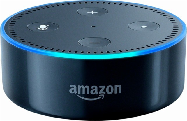 Amazon Echo Dot (2nd generation) Zwart