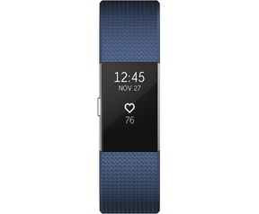 Fitbit Charge 2 - Blue/Silver (S)