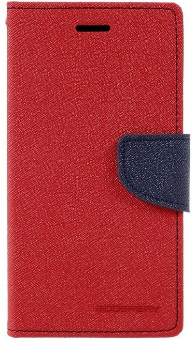 Mercury Fancy Diary WalletCase - Sony Xperia Z1 Compact - Rood Rood