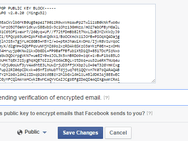 Facebook PGP