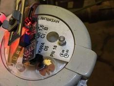 Sensus water meter line sensor