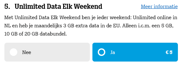 Tele2 Weekend Unlimited