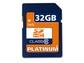 Goedkoopste Platinum 32GB SDHC Class 6