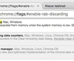 Chrome Canary Tab Discard