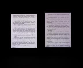Schermverlichting Amazon Kindle Voyage en Kindle Paperwhite