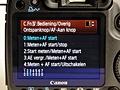 Canon Eos 50D recensie interface
