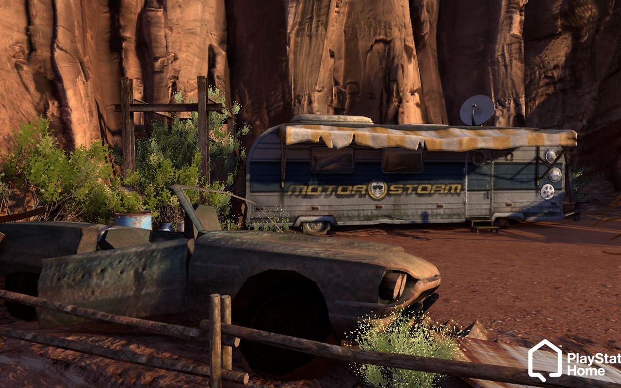 Playstation Home omgevingen