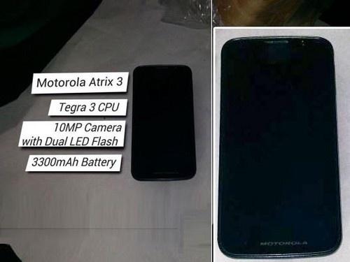 Motorola Atrix 3?