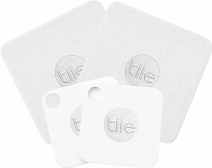 Tile Mate /Slim Bluetooth Tracker Combo Four Pack