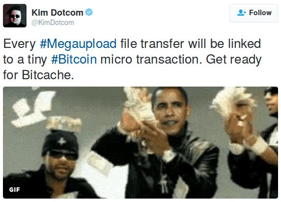 Megaupload kim dotcom twitter