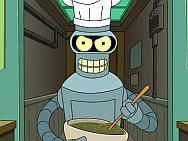 Bender robot kok