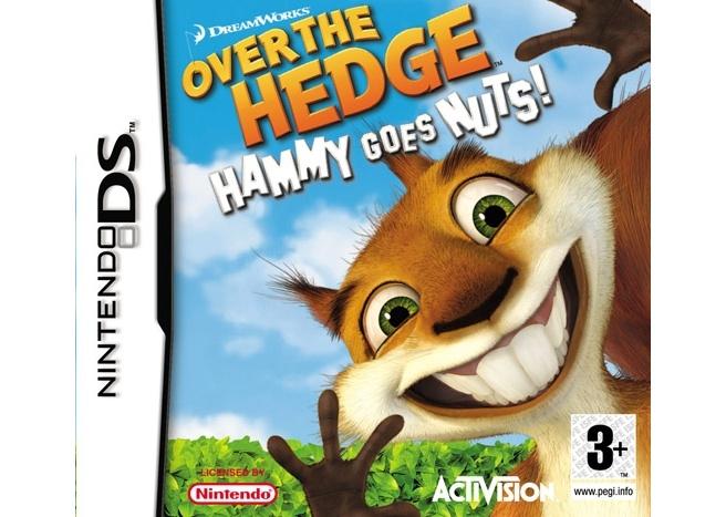 Packshot voor Over the Hedge: Hammy Draait Door