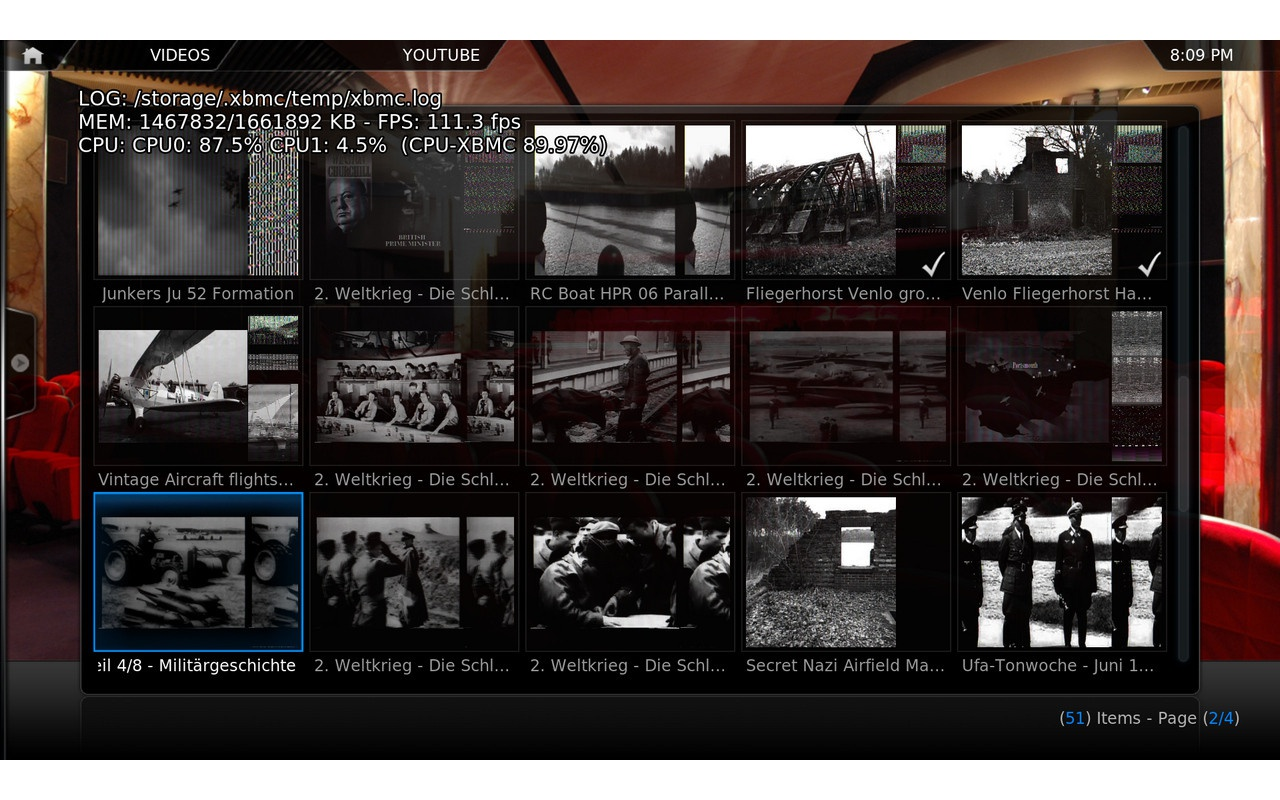 OpenELEC screenshot