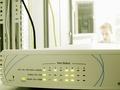 Een 3Com OfficeConnect regelt het interne netwerk