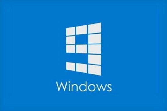 Vermoedelijk logo Windows 9