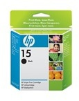 HP 15 Large Black Inkjet Print Cartridge