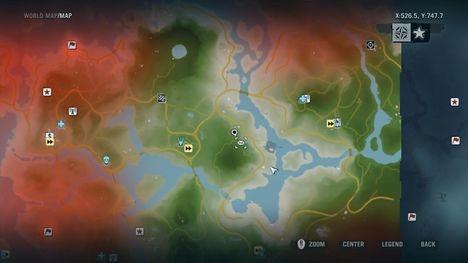 Ingame map