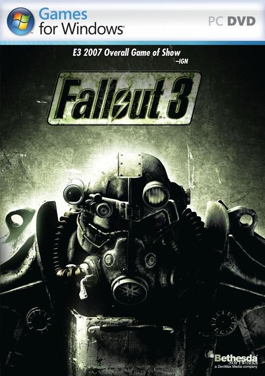 Packshot voor Fallout 3