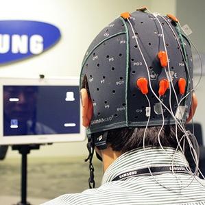 Samsung-tablet met hersenbediening