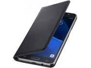 Goedkoopste Samsung Galaxy J5 (2016) Flip Wallet - Black (Galaxy J5(2016)) Zwart
