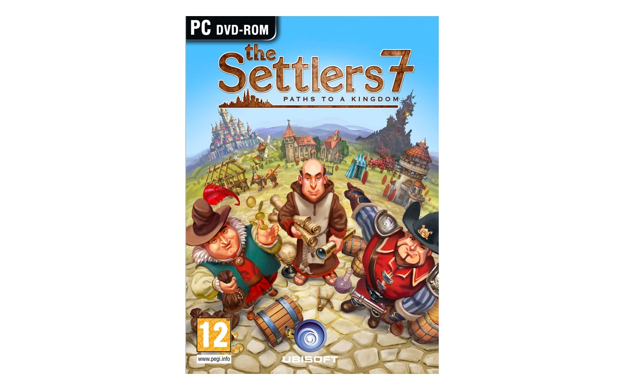 Packshot voor The Settlers 7: Paths to a Kingdom