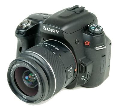 Sony Alpha A450 inleiding