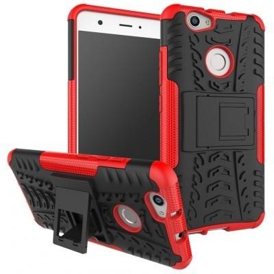 qMust Huawei Nova Rugged Hybrid Case - Dual Protection - Rood
