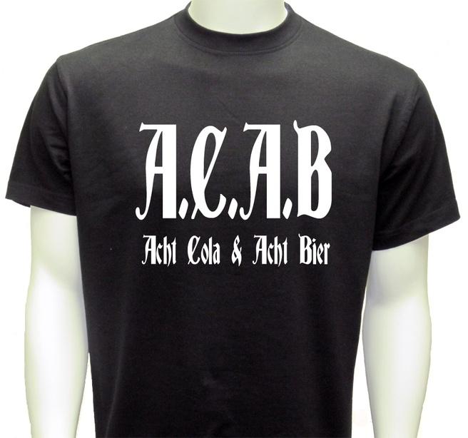 Acab: Acht Cola, Acht Bier?