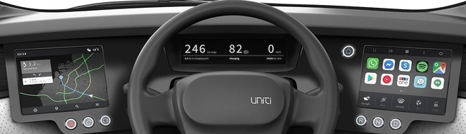 Uniti One dashboard