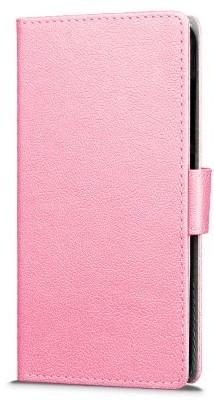 qMust Wiko UPulse Wallet Case - hoesje met stand - Roze