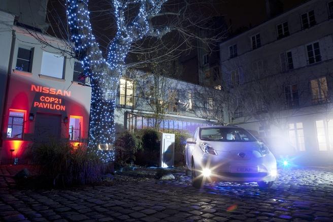 De Nissan Leaf is al sinds 2013 in staat om een compleet huis van stroom te voorzien