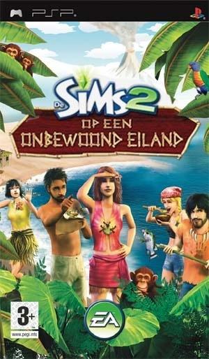 Sims 2 Op een Onbewoond Eiland, PlayStation Portable