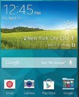 Google-apps op S5 Active