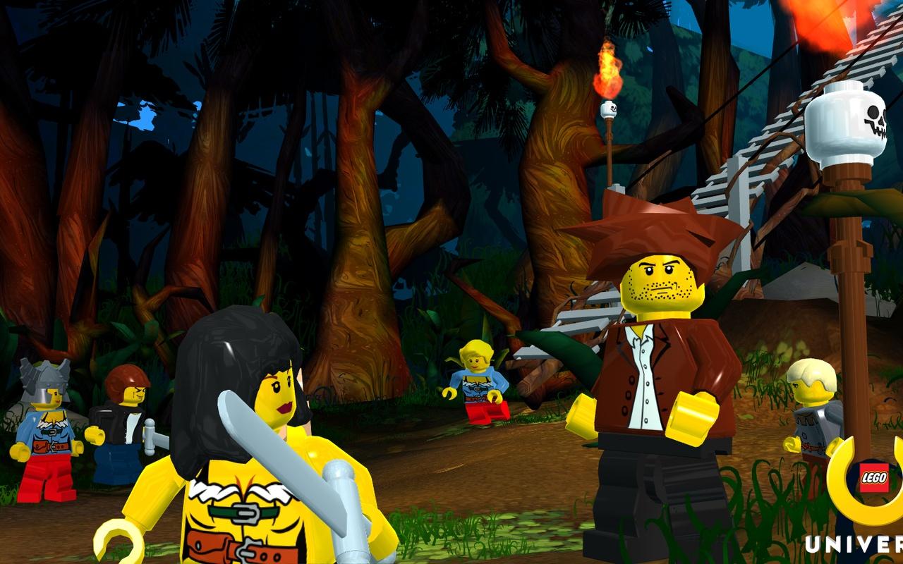 speelgoedfabrikant Lego heeft beelden vrijgegeven van Lego Universe