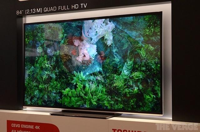"""Toshiba 4K 84"""" Televisie"""