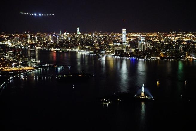 Solar Impulse 2 New York