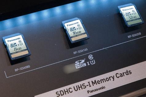 Panasonic sdxc-kaartje 80MB/s schrijfsnelheid fpa