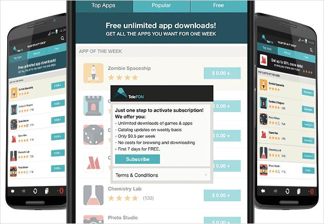Opera app store