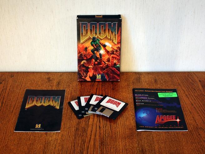 Doom floppy