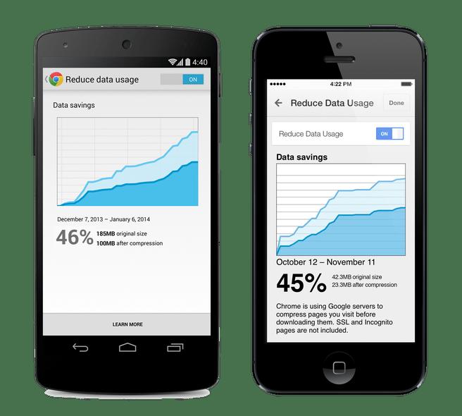 Chrome -- datacompressie