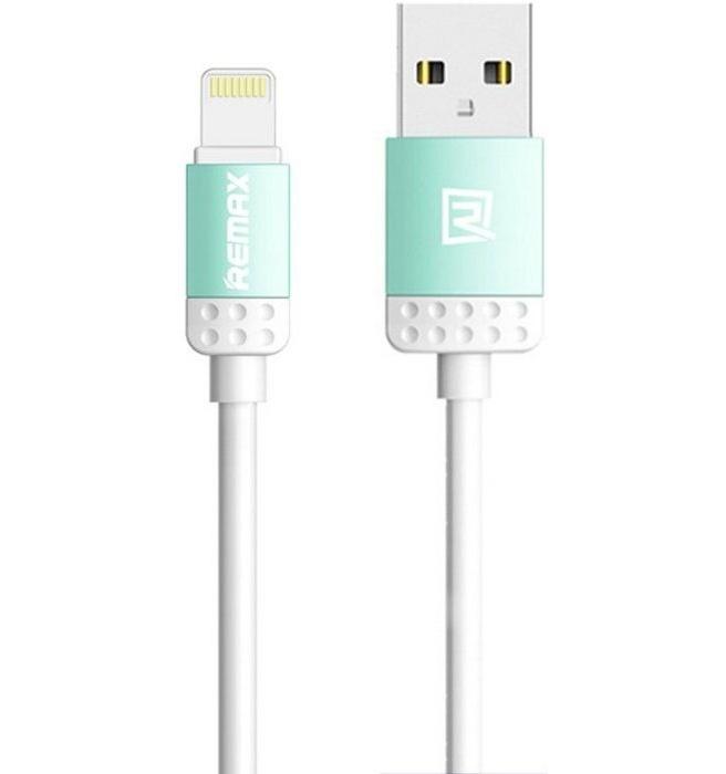 Remax Lovely USB naar Lightning Data Kabel - Blauw (1m)